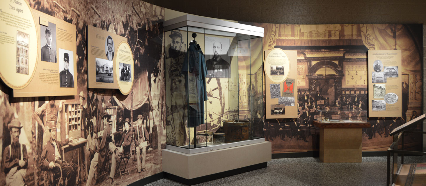 Creation of a New History Exhibition Highlighting the Historical Growth of Stark County over the Past 200 Years